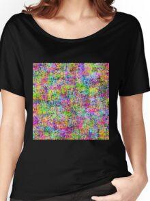Abstract Wildflower Garden Women's Relaxed Fit T-Shirt