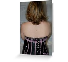 Corset Story Greeting Card