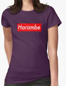 HARAMBE Womens Fitted T-Shirt