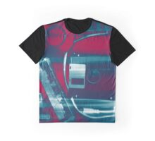 Leftover Tech - Red White and Blue Graphic T-Shirt