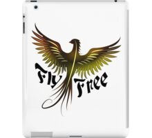 Fly Free - Phoenix iPad Case/Skin