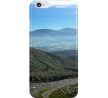Misty Morning in the Lake District National Park, UK iPhone Case/Skin