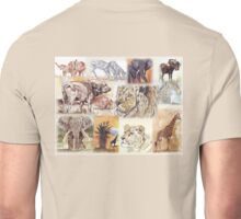 South Africa's wildlife wonders Unisex T-Shirt