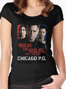 Chicago PD Women's Fitted Scoop T-Shirt