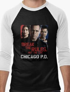 Chicago PD Men's Baseball ¾ T-Shirt