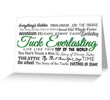 Tuck Everlasting OBC Greeting Card
