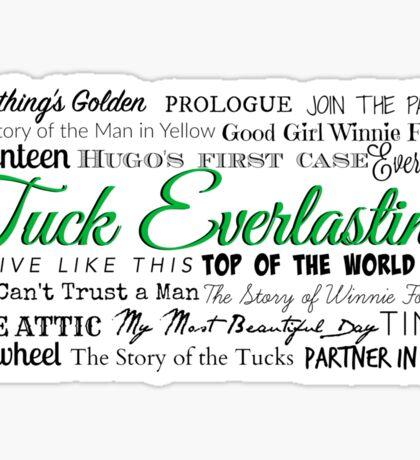 Tuck Everlasting OBC Sticker