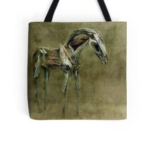 Wooden Horse Tote Tote Bag