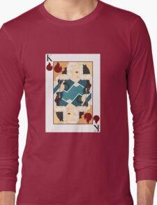 Khaleesi Playing Card / Drogon Long Sleeve T-Shirt