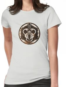 The Ultimate 80's Evil (distressed) Womens Fitted T-Shirt