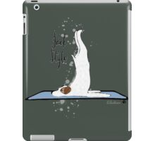 Jack Style - Jack Russell Terriers Doing Yoga on Your Stuff iPad Case/Skin