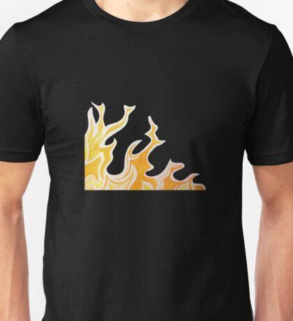 flame corner Unisex T-Shirt
