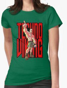 Techno Viking Womens Fitted T-Shirt