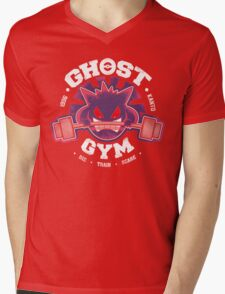 Ghost Gym Mens V-Neck T-Shirt