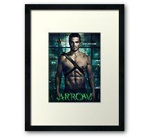 Arrow TV Series Framed Print