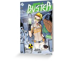 Buster 35 Greeting Card