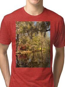 Magnolia Gardens - Charleston, SC Tri-blend T-Shirt