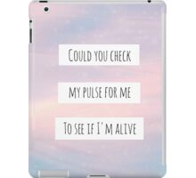 "Sleeping With Sirens - ""Alone"" iPad Case/Skin"