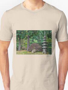 Japanese Stone Pagoda 2 Unisex T-Shirt