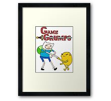 Game Grumps Adventure Time Framed Print