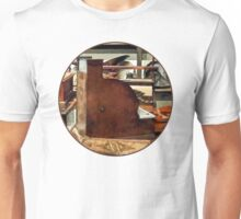 Wooden Cash Register in General Store Unisex T-Shirt