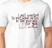 Jess Mariano Quotes Unisex T-Shirt