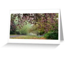 Spring Atmosphere on Queens - Mt Wilson Greeting Card