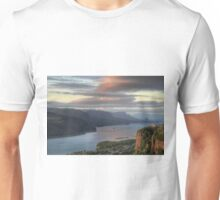Sunset on Crown Point Unisex T-Shirt