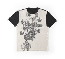 Water Lily Heart - Evolve Love Graphic T-Shirt