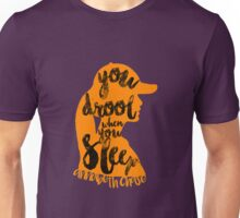 "Percy Jackson Quote ""You Drool When You Sleep"" Unisex T-Shirt"