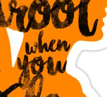 """Percy Jackson Quote """"You Drool When You Sleep"""" Sticker"""