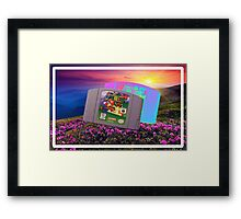 Super Mario 64 Framed Print
