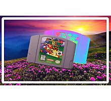 Super Mario 64 Photographic Print