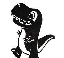 Dinosaur by karendrawsstuff