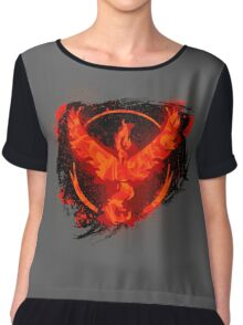 Go! Team Valor! Chiffon Top