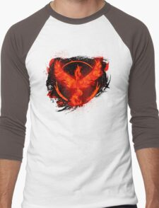 Go! Team Valor! Men's Baseball ¾ T-Shirt