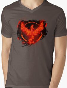 Go! Team Valor! Mens V-Neck T-Shirt