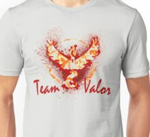 Go! Team Valor (Text)! Unisex T-Shirt