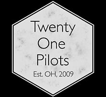 Twenty One Pilots - Hipster Logo by Michael Tumlin