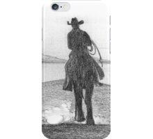 Real cowboys never die iPhone Case/Skin