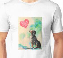 Bernese Mountain Dog~LOVE~Valentine~Colorful Unisex T-Shirt