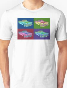 1957 Chevrolet Bel Air Convertible Pop Art T-Shirt
