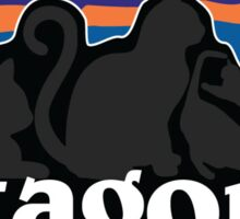 Cat-agonia Sticker