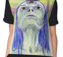 Enlightenment Experience Chiffon Top