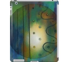 Abstract Moody Circle iPad Case/Skin
