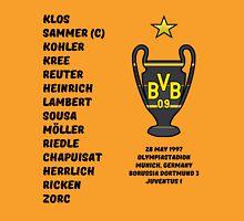 Borussia Dortmund 1997 Champions League Winners Unisex T-Shirt