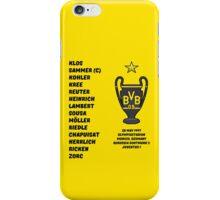 Borussia Dortmund 1997 Champions League Winners iPhone Case/Skin