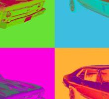 1969 Chevrolet Nova Yenko 427 Muscle Car Pop Art Sticker