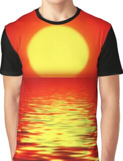 Sunset Girl Graphic T-Shirt