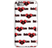 Koala Love #2 Pattern  iPhone Case/Skin